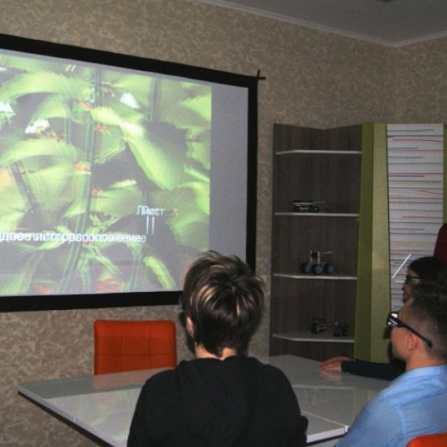 Интегрированный  урок русского языка и биологии с использованием  3d-технологии
