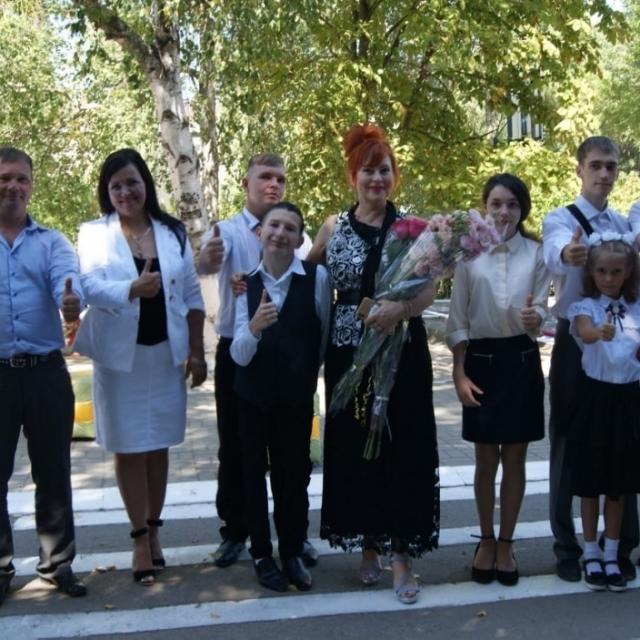 Первый звонок прозвенел в ГКОУ РО Волгодонской специальной  школе-интернате «Восхождение» в новом формате